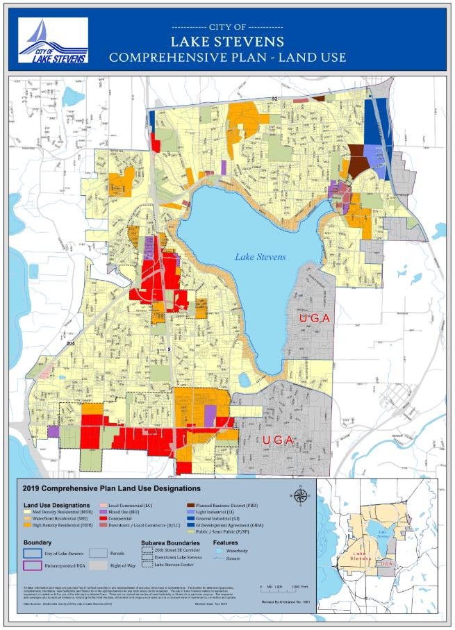City Maps  Lake Stevens WA  Official Website