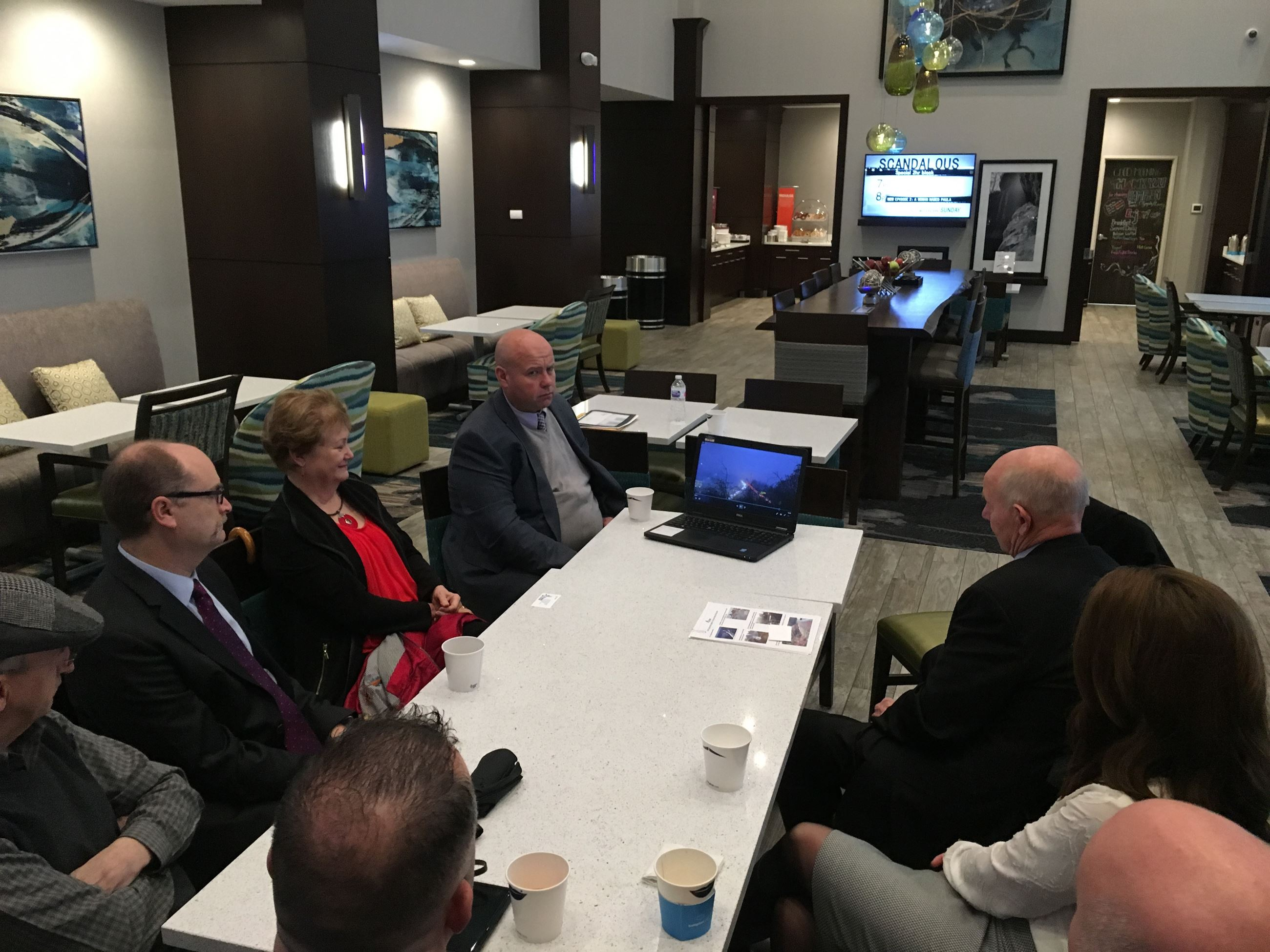 Lake Stevens Mayor and City Council Meet with Rep. Judy Clibborn