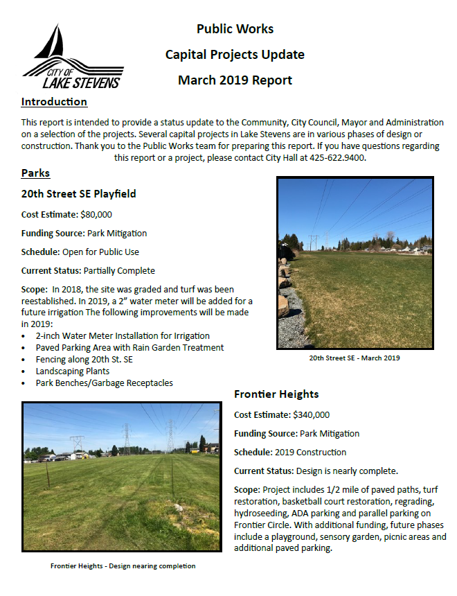 March CIP Report