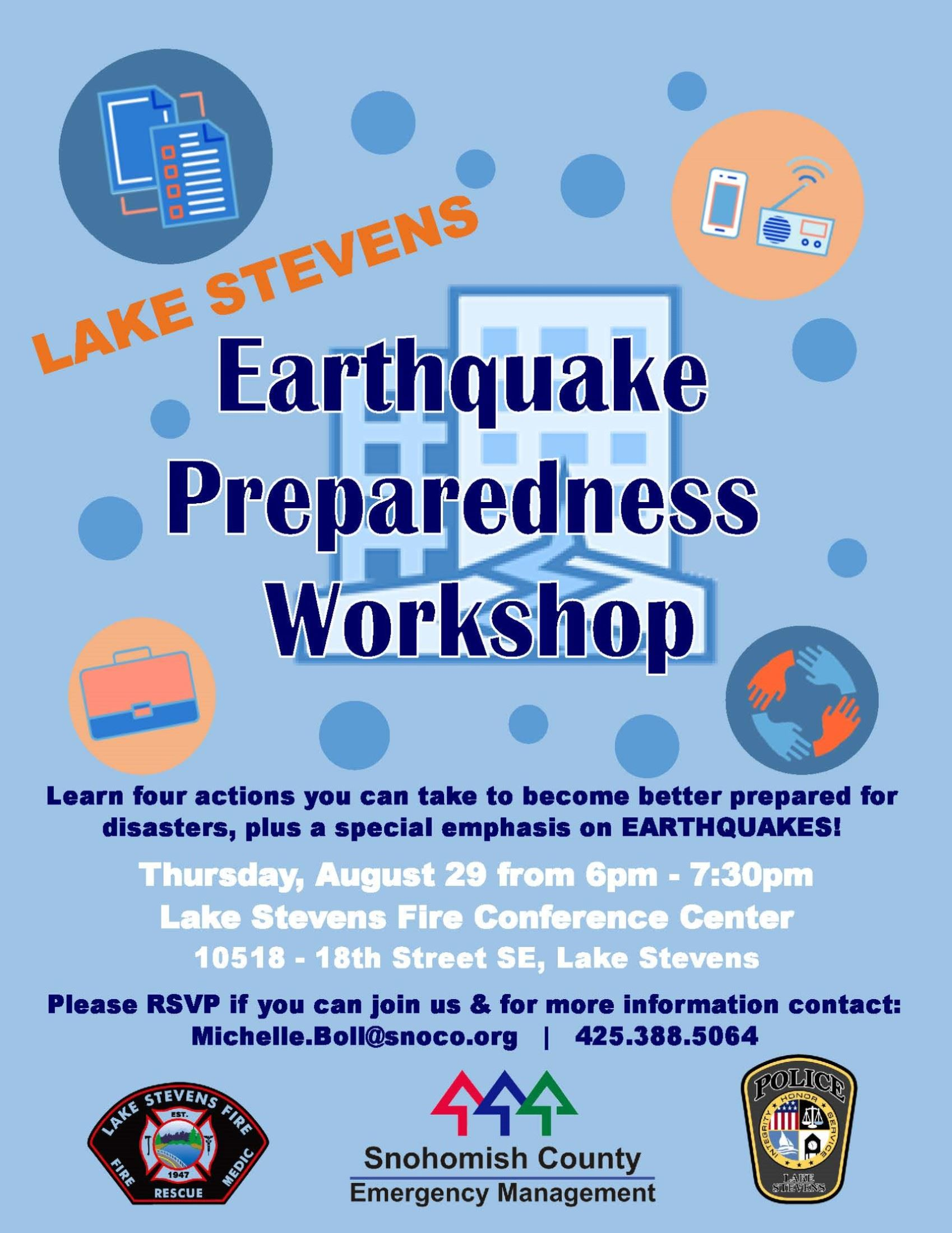 19-08-29 Lake Stevens Earthquake Preparedness Workshop Compressed
