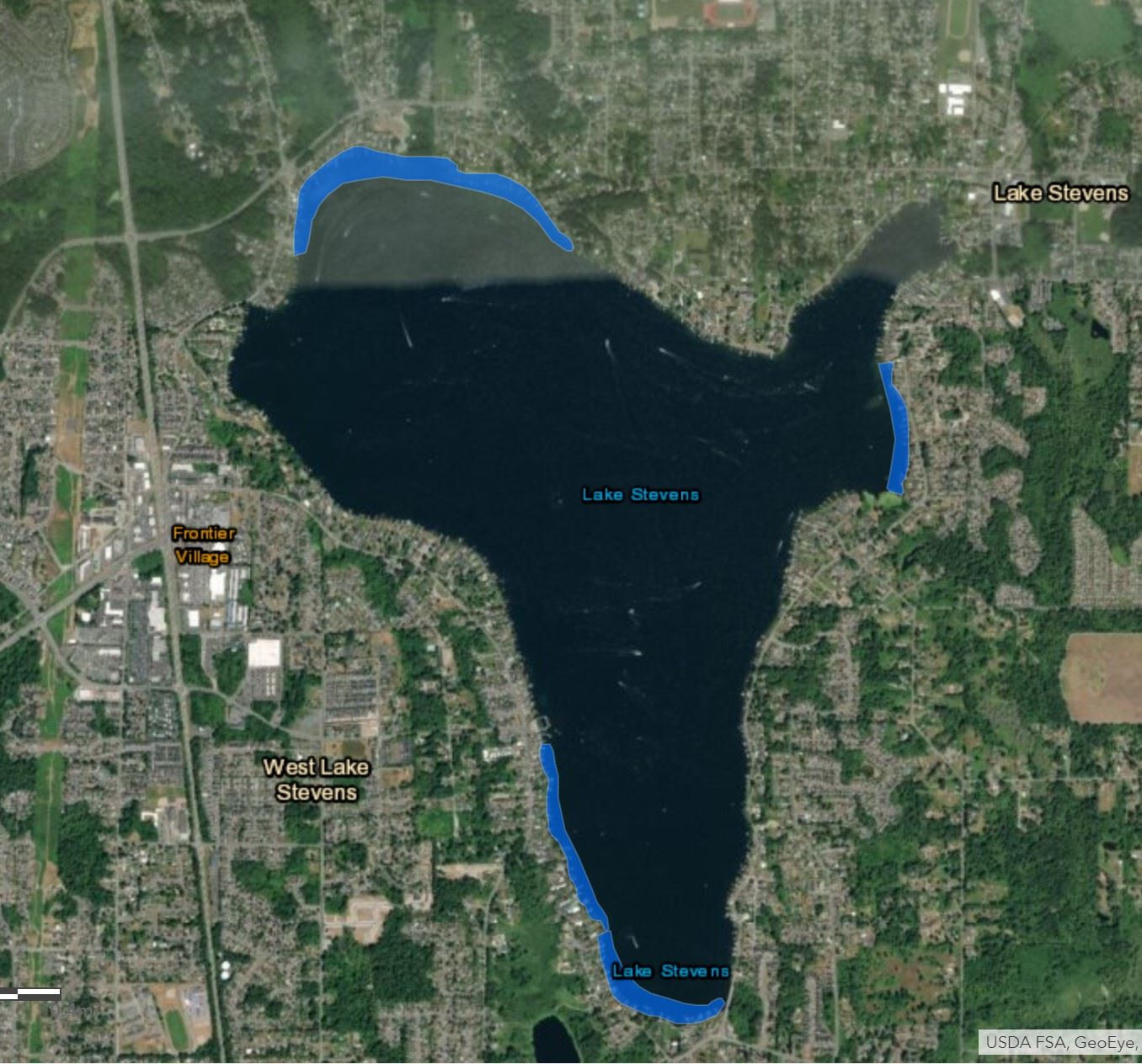 2020 Lake Treatment Map