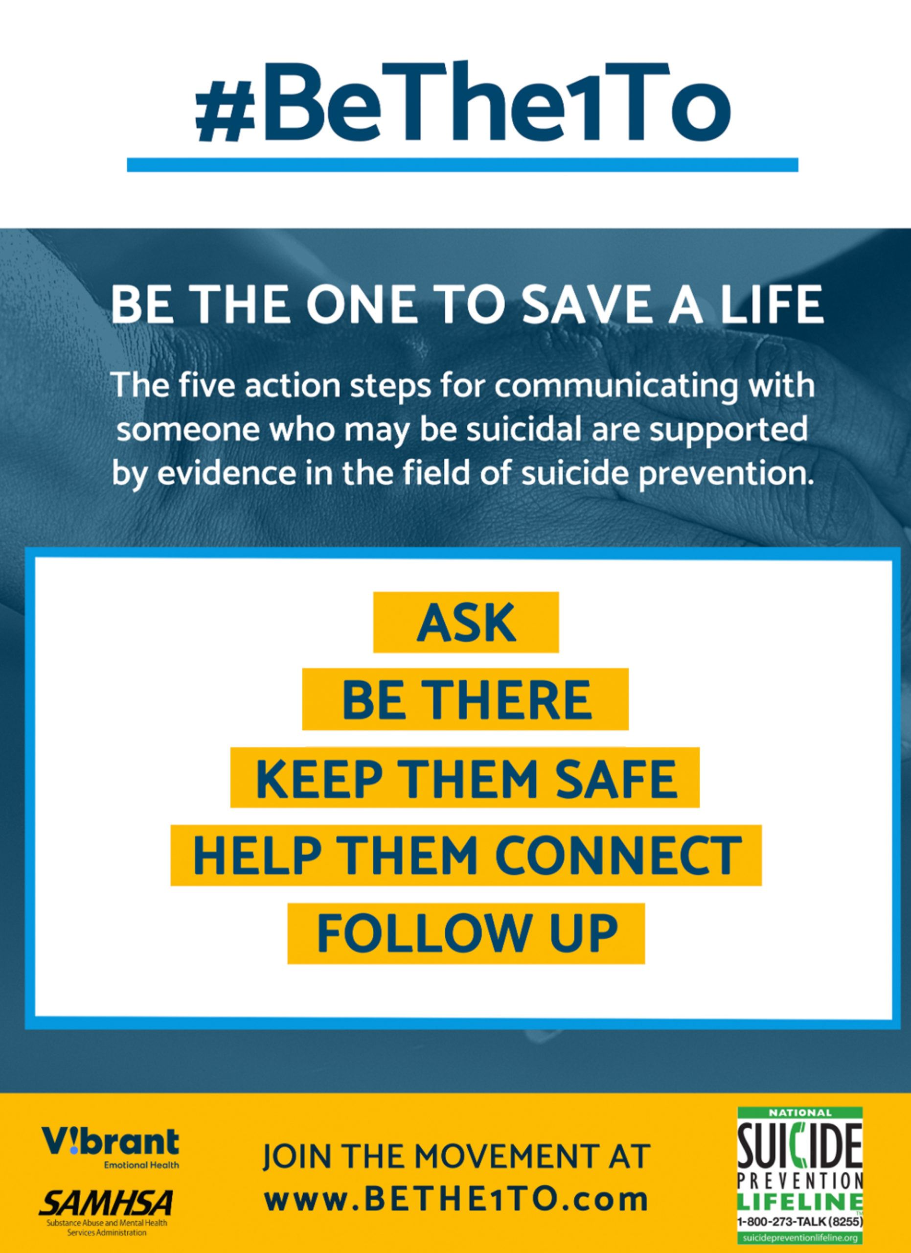 Suicide Prevention poster