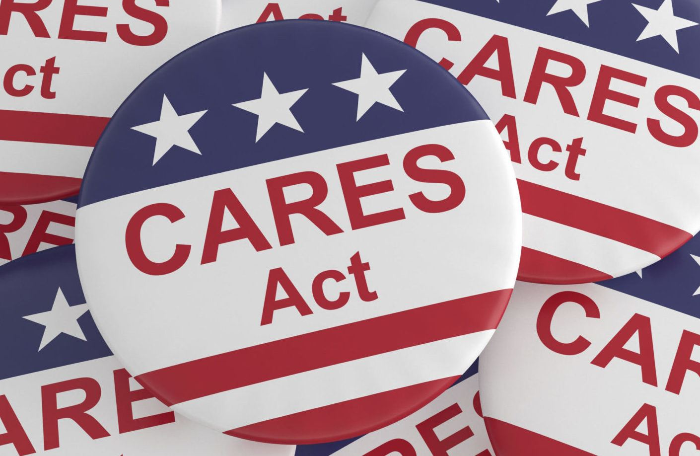 CARES ACT button