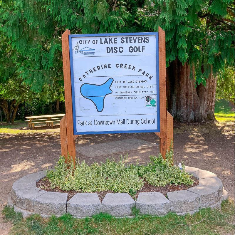 Catherine Creek Park sign