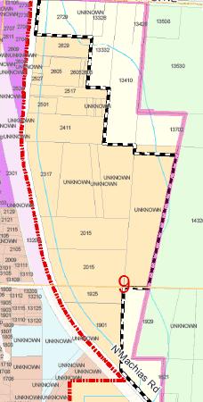 Machias Annexation Area