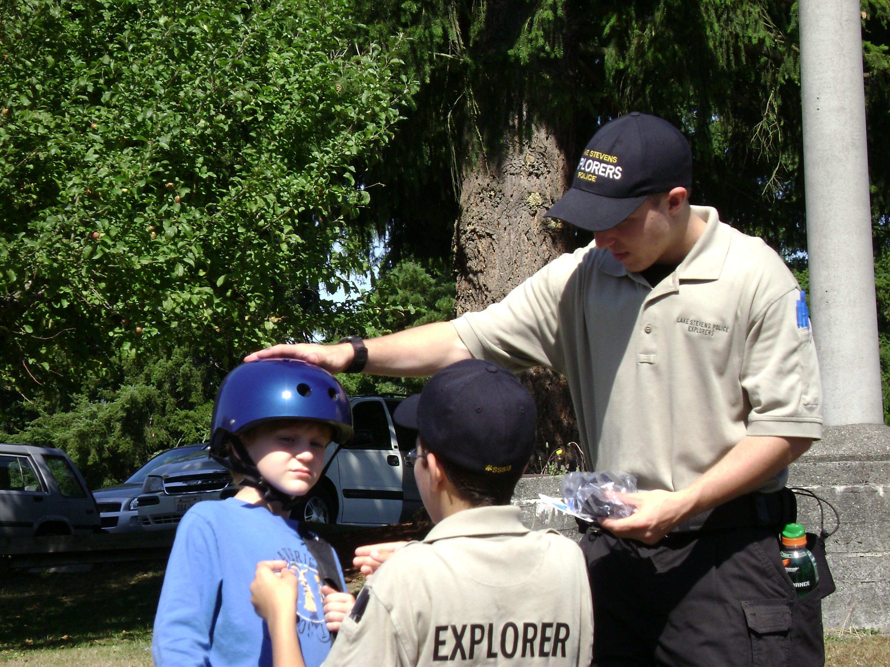 Explorers in action
